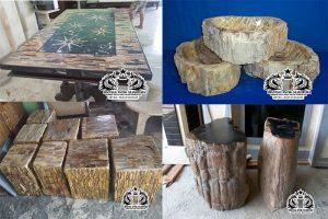 Produk Kerajinan Batu Fosil