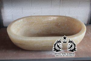 Wastafel Oval Onyx