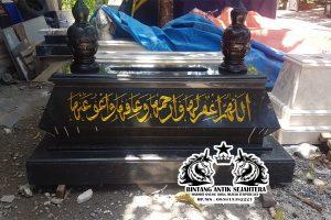 Makam Bokoran Tunggal Granit Blacknero